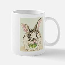 Black and White Rabbit Mugs