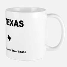Texas - 2013 The Lone Star State blank plate Mugs