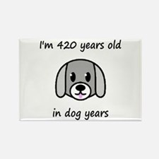 60 dog years 2 - 2 Magnets