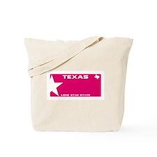 Texas - Lone star - PINK blank plate desi Tote Bag