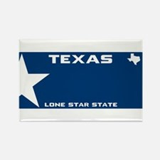 Texsas Lone star Blue Magnets