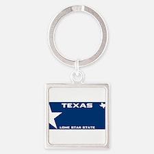 Texsas Lone star Blue Keychains