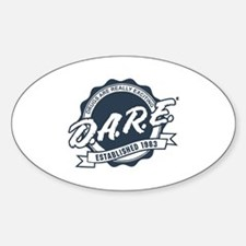 drugs are really exciting Sticker (Oval)