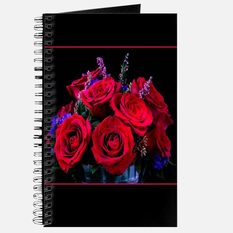 Romantic Red Roses Journal