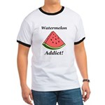 Watermelon Addict Ringer T