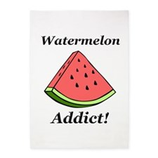 Watermelon Addict 5'x7'Area Rug