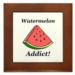 Watermelon Addict Framed Tile