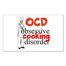 Cooking Disorder Bumper Stickers