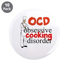 """Cooking Disorder 3.5"""" Button (10 pack)"""