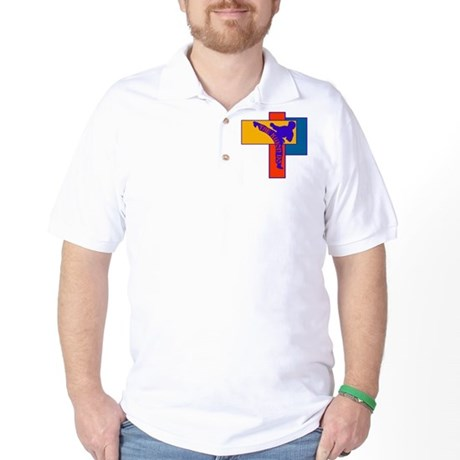 TKD Power Kick Golf Shirt