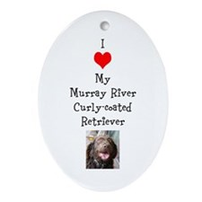 I (heart) my Murray Ornament (Oval)