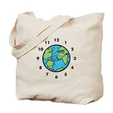 Peace on Earth in Time Tote Bag