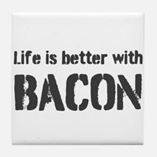 Life Is Better Tile Coaster