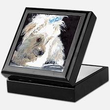 Maltese Pup Keepsake Box