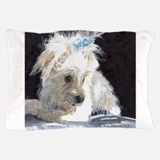 Maltese Pup Pillow Case