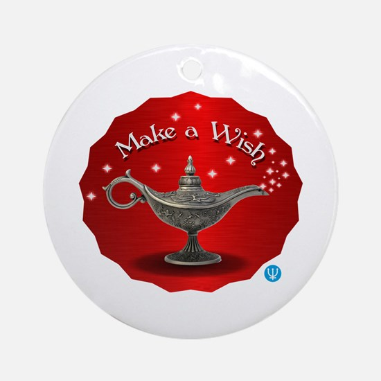 The wish Round Ornament