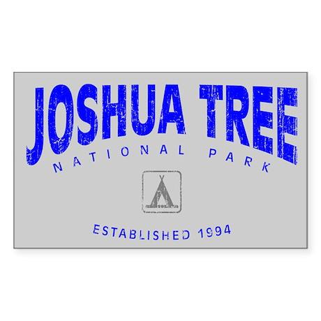 Joshua Tree National Park (Arch) Sticker (Rectangu
