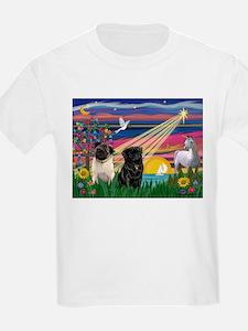 Pug Magical Night T-Shirt