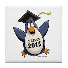 Class of 2015 Penguin Tile Coaster