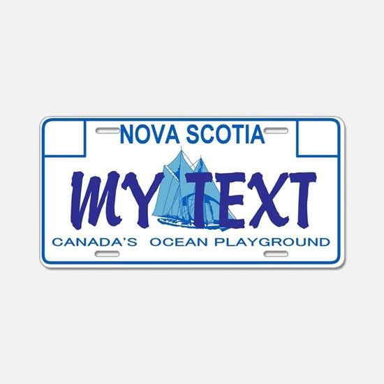 Nova Scotia - Canada Aluminum License Plate