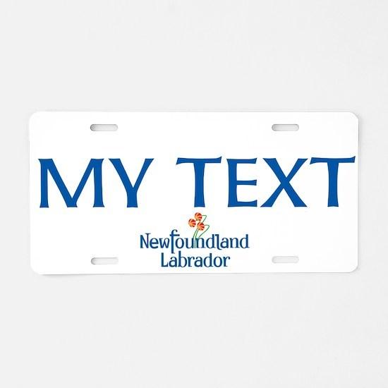 Newfoundland And Labrador Aluminum License Plate