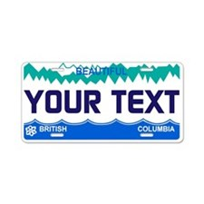 British Columbia 2000 Aluminum License Plate