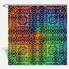 Cute Aztec Shower Curtain