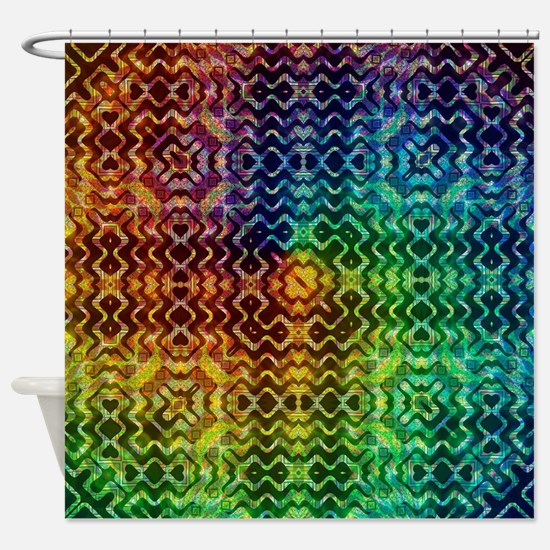 Cute Aztec Shower Curtain