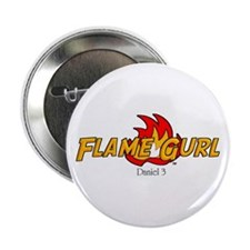 Flame Gurl Button