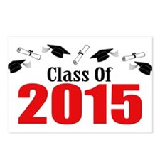 Class Of 2015 (Red Caps A Postcards (Package of 8)