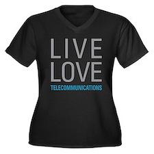 Telecommunications Plus Size T-Shirt