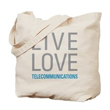 Telecommunications Tote Bag
