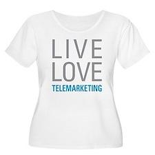 Telemarketing Plus Size T-Shirt
