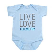 Live Love Telemetry Body Suit