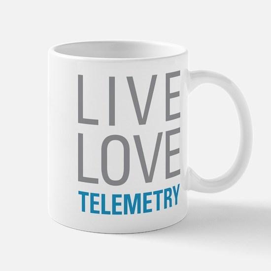Live Love Telemetry Mugs