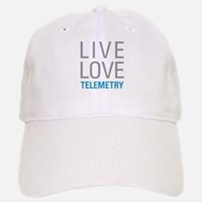 Live Love Telemetry Baseball Baseball Cap