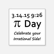 Pi Day 2015 Sticker
