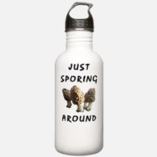 Cute Morel mushroom Water Bottle