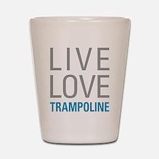 Trampoline Shot Glass