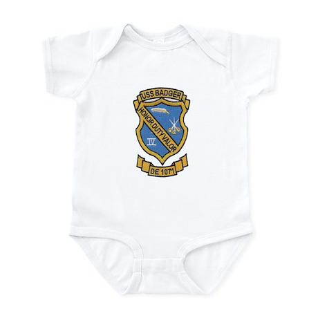 USS BADGER Infant Bodysuit