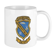USS BADGER Small Mug