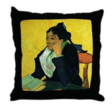 Portrait of Madame Ginoux Throw Pillow