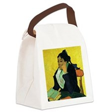 Portrait of Madame Ginoux Canvas Lunch Bag