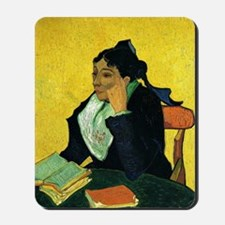 Portrait of Madame Ginoux Mousepad