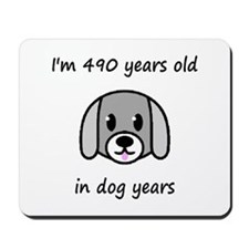 70 dog years 2 - 2 Mousepad