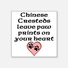 Chinese Cresteds Leave Paw Prints On Your Heart St