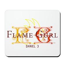 Flame Gurl Mousepad