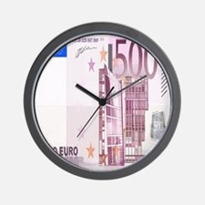Cool Currency Wall Clock
