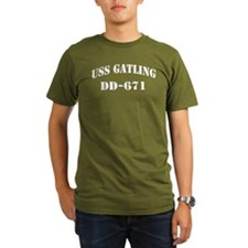 USS GATLING T-Shirt