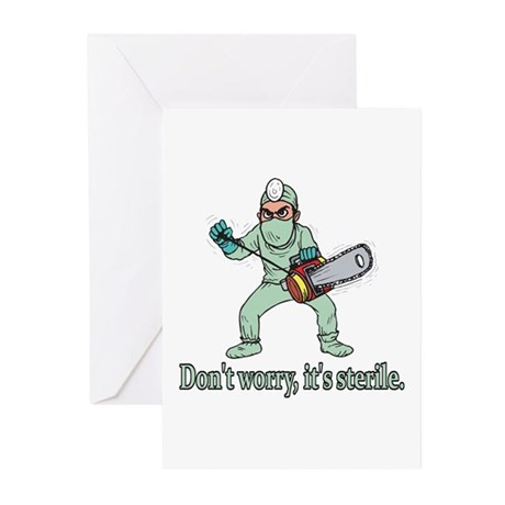 Funny Gifts For Patients Greeting Cards (Pk of 10)